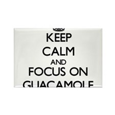 Keep Calm and focus on Guacamole Magnets