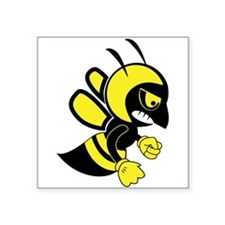 Bee Mascot Sticker