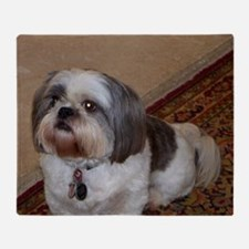 Cute Cute shih tzu Throw Blanket