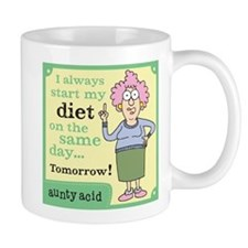 Aunty Acid: Diet Small Mug