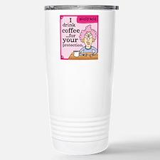 Aunty Acid: Coffee Prot Stainless Steel Travel Mug