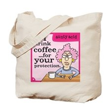 Aunty Acid: Coffee Protection Tote Bag