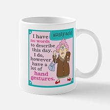 Aunty Acid: Hand Gestures Mug