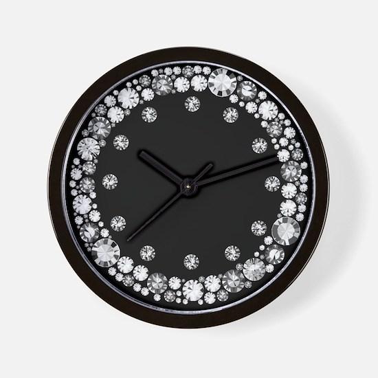 Diamond Infinity Wall Clock
