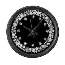 Diamond Infinity Large Wall Clock
