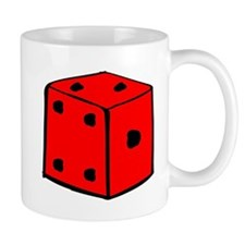 Red Dice Mugs