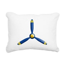 Airplane Propeller Rectangular Canvas Pillow