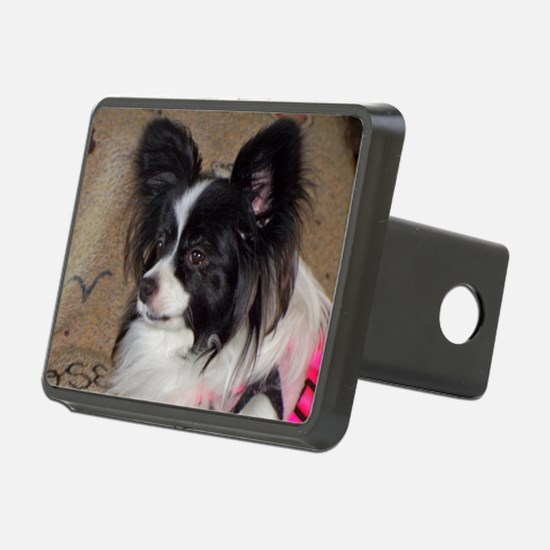 Papillon Side pose Hitch Cover