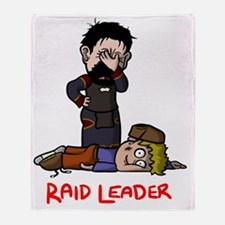 Raid Leader (Krom) Throw Blanket