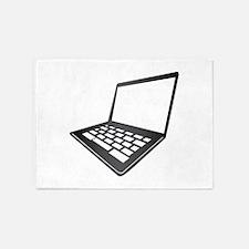 Mac Laptop 5'x7'Area Rug