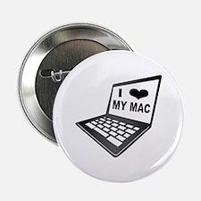 """I Love My Mac 2.25"""" Button"""