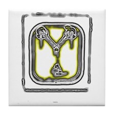 The Flux Capacitor Tile Coaster