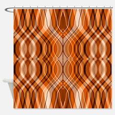 Amber Urn Shower Curtain
