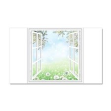 Spring View Car Magnet 20 x 12
