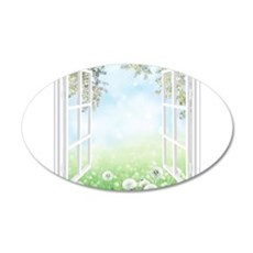 Spring View Wall Decal