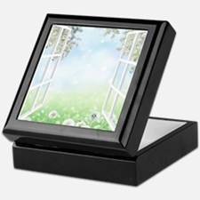 Spring View Keepsake Box