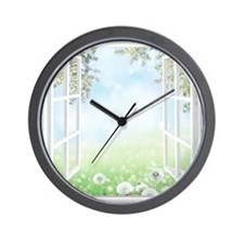 Spring View Wall Clock