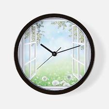 Spring View Wall Clock