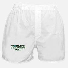 World's Greatest Dad Boxer Shorts