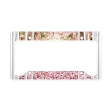Romantic View License Plate Holder