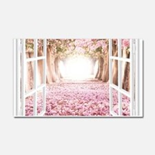 Romantic View Car Magnet 20 x 12