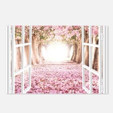 Romantic View Postcards (Package of 8)