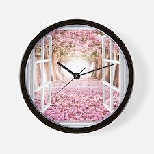 Romantic View Wall Clock