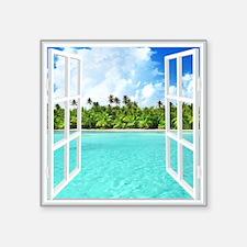 Island View Sticker