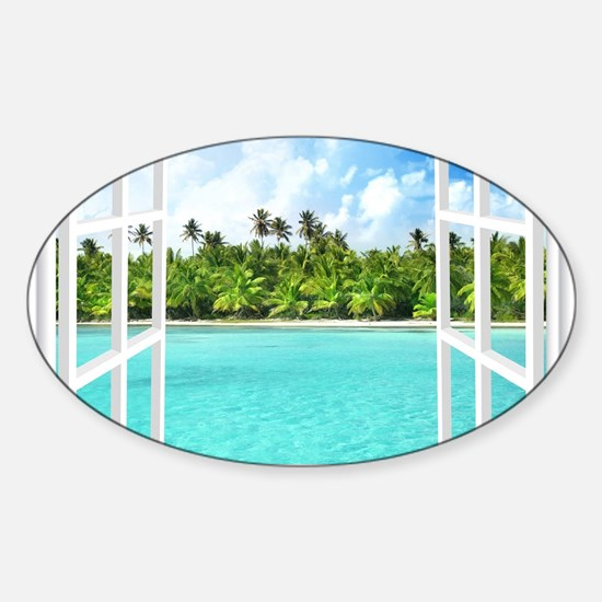 Island View Decal