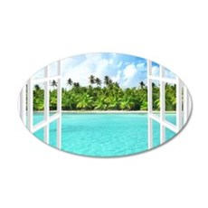 Island View Wall Decal