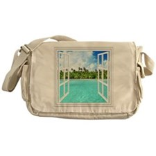 Island View Messenger Bag