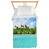 Palm trees Twin Duvet Covers