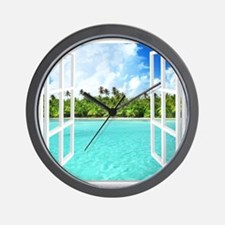 Island View Wall Clock