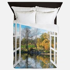 Lake View Queen Duvet