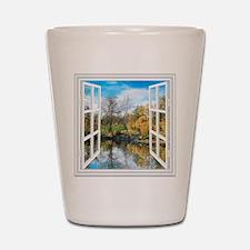 Lake View Shot Glass