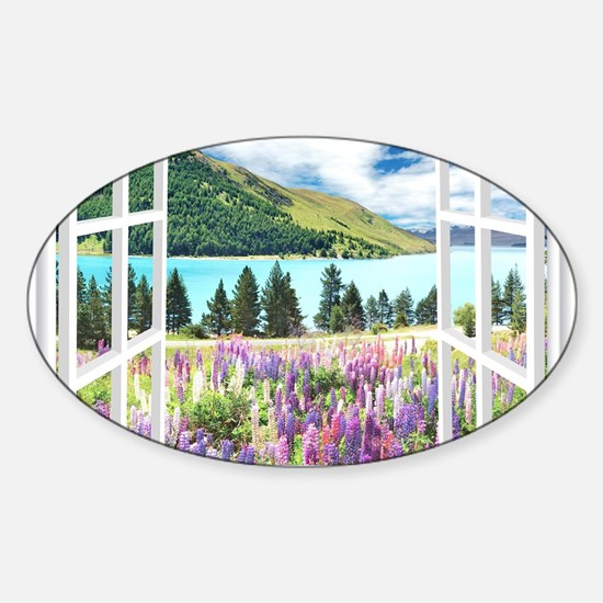 New Zealand View Decal
