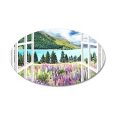 New Zealand View Wall Decal