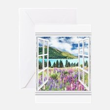 New Zealand View Greeting Cards