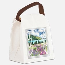 New Zealand View Canvas Lunch Bag