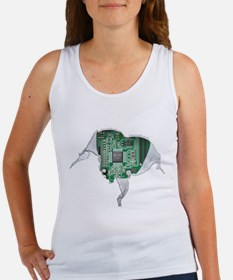 Unique Computer nerd Women's Tank Top