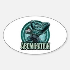 Abomination Sticker (Oval)