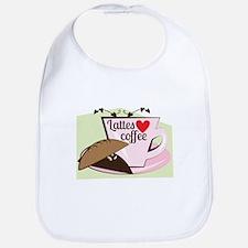 Lattes Coffee Bib