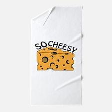 So Cheesy Beach Towel