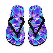 Cute Trippy Flip Flops