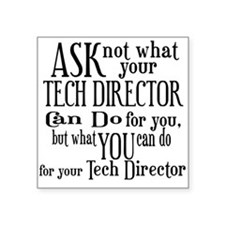 asknottechdirector Sticker