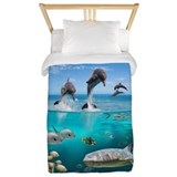 Sea animals Twin Duvet Covers