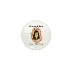 Cheng I Sao Pirate Mini Button (10 pack)