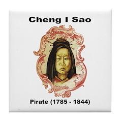Cheng I Sao Pirate Tile Coaster