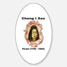 Cheng I Sao Pirate Oval Decal