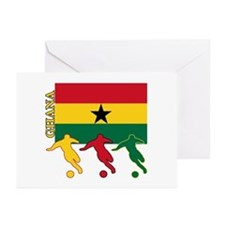 Ghana Soccer Greeting Cards (Pk of 10)